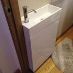 トイレ サンワカンパニー 手洗い器 収納