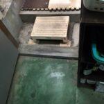 周南市で床工事 無垢のフローリング張り